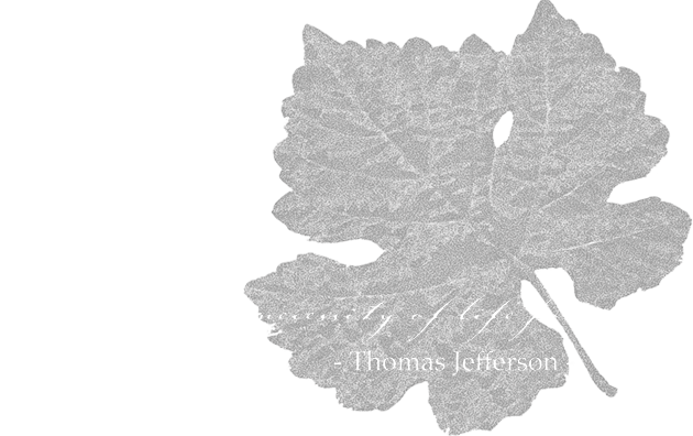 leaf with thomas jefferson quote